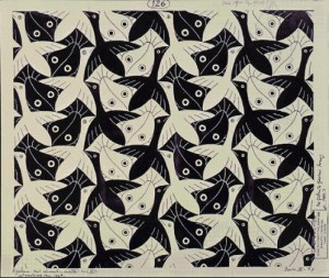 E126-MC-Escher-No-126-FishBird-1967