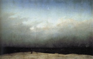 'Monk by the Sea' Caspar David Friedrich